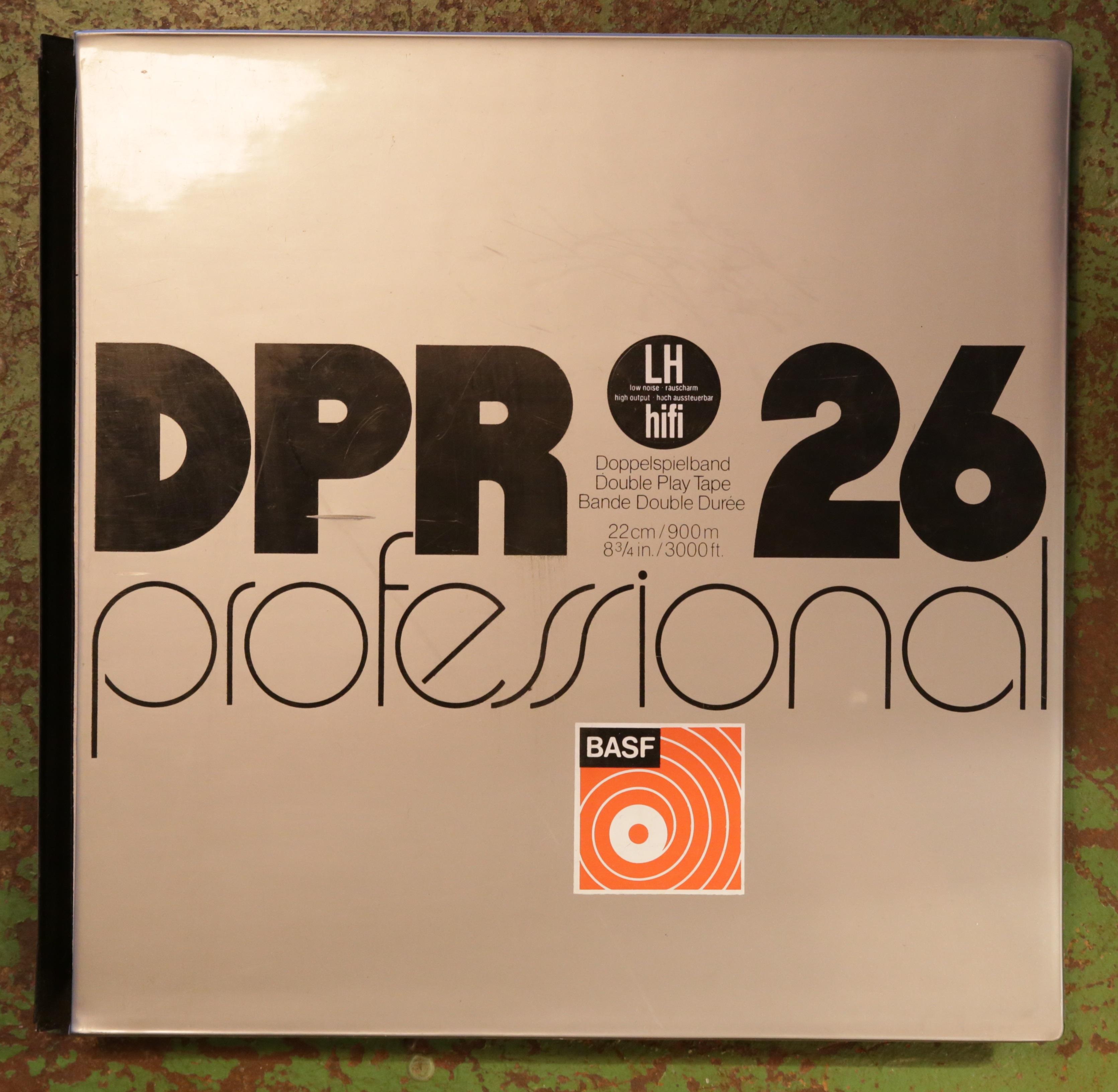 Die Verpackung des Agfa DPR 26 professional